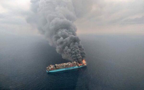 Tragic fire on Megaship Maersk Honam