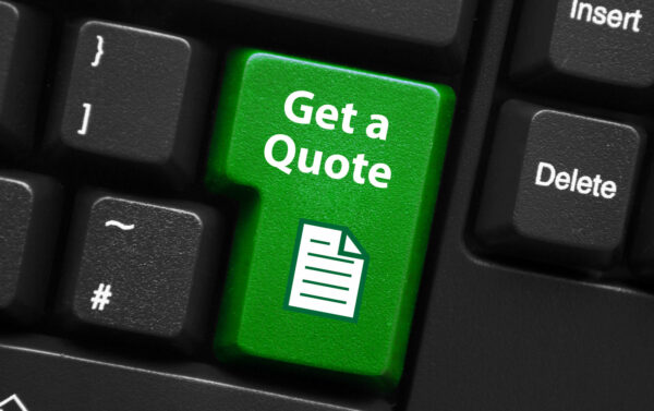 keyboard key to determine the most accurate rate quote