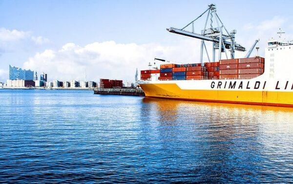 ocean freight example