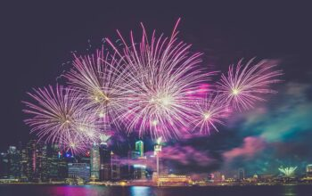 amazing fireworks show image Number 1